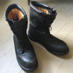 Rocky Heavy Duty Steel Toe Vibram Sole Boots 11.5W